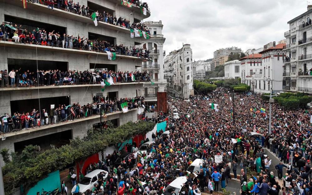 Algérie révolte 2019