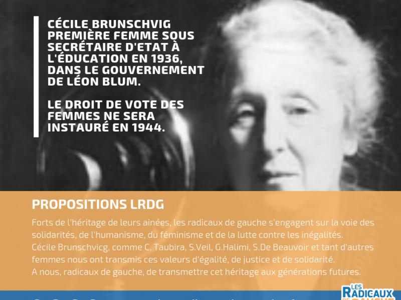 Cécile Brunschvig 8 mars 2019