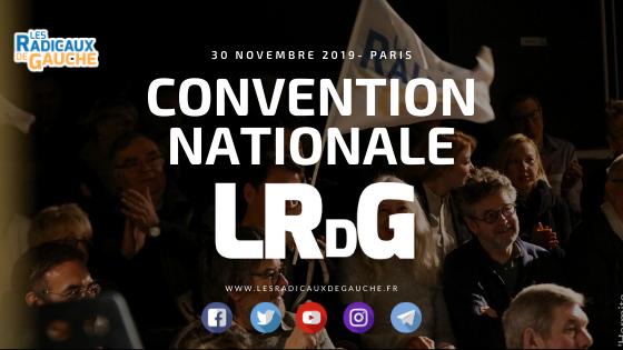 Concention Nationale LRDG 30 novembre 2019
