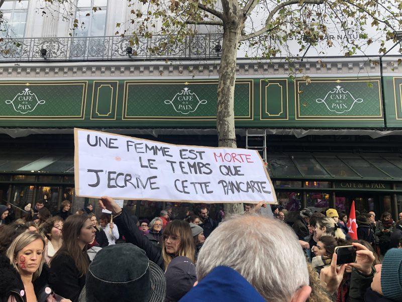 Nous toutes 23 novembre 2019 à Paris