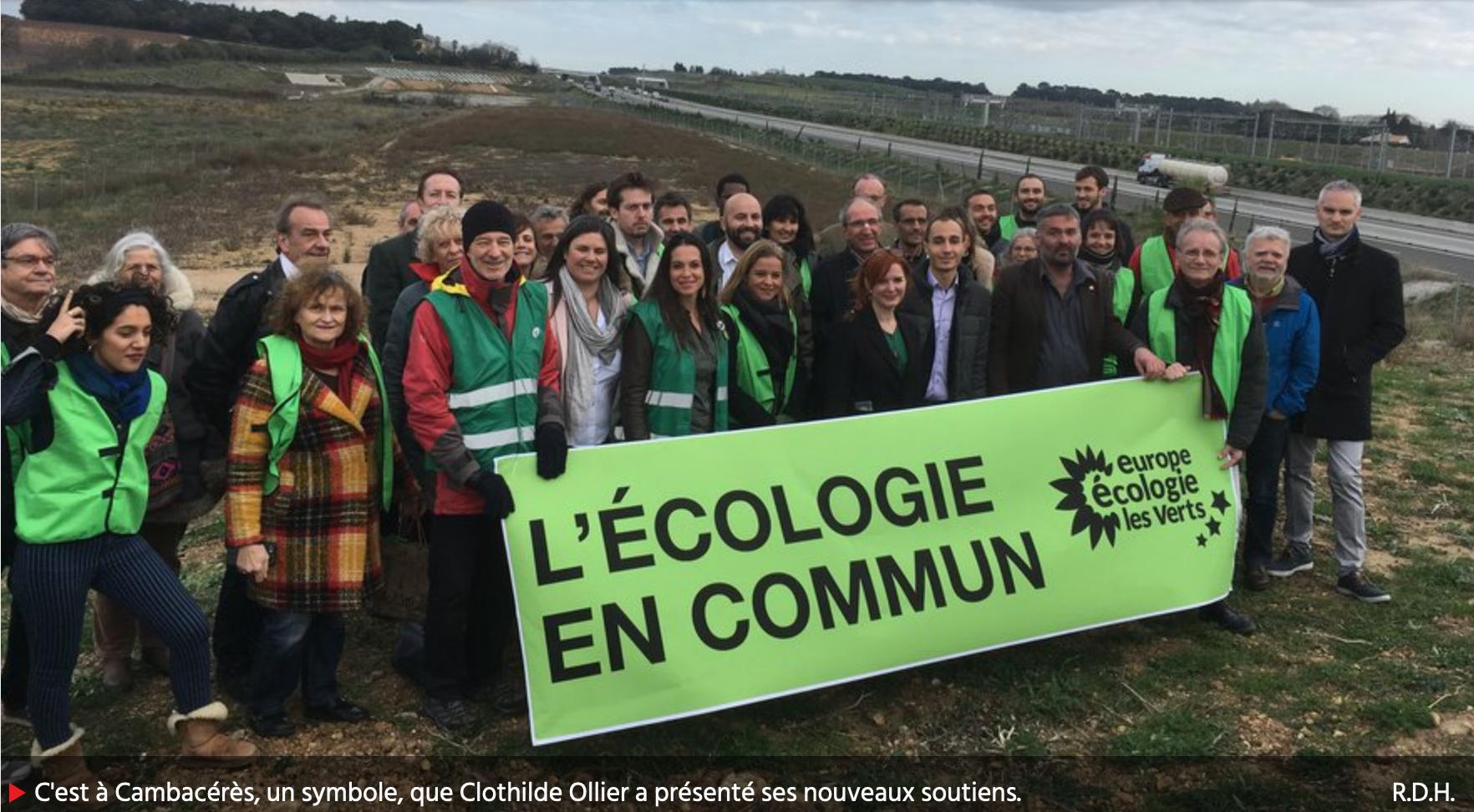 Midi Libre l'écologie en commun