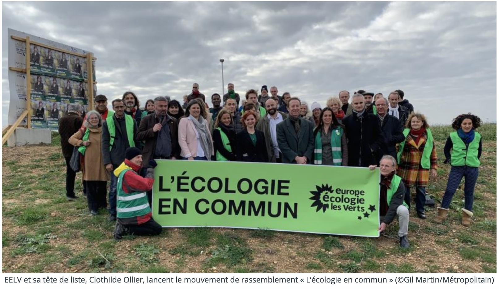 actu.fr l'écologie en commun montpellier
